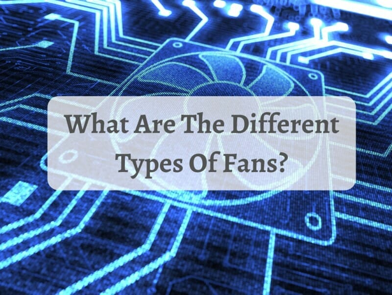 What Are The Different Types Of Fans