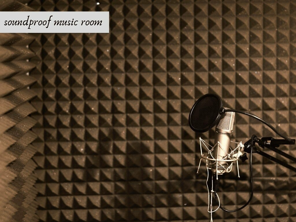 soundproof music room