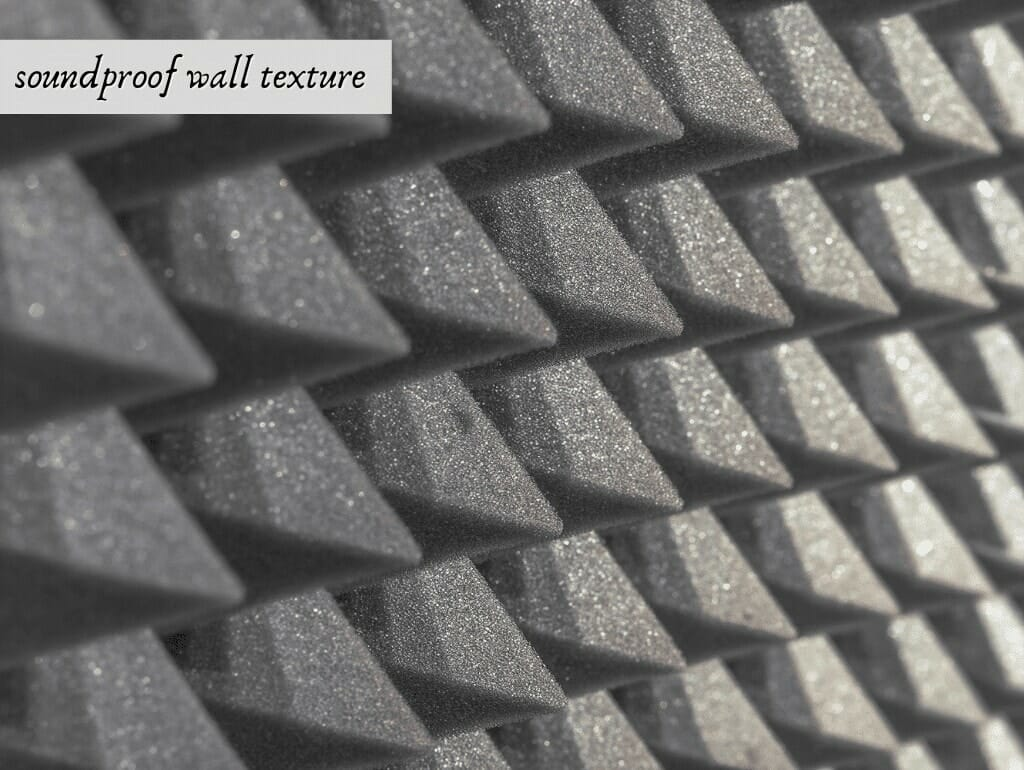 soundproof wall texture