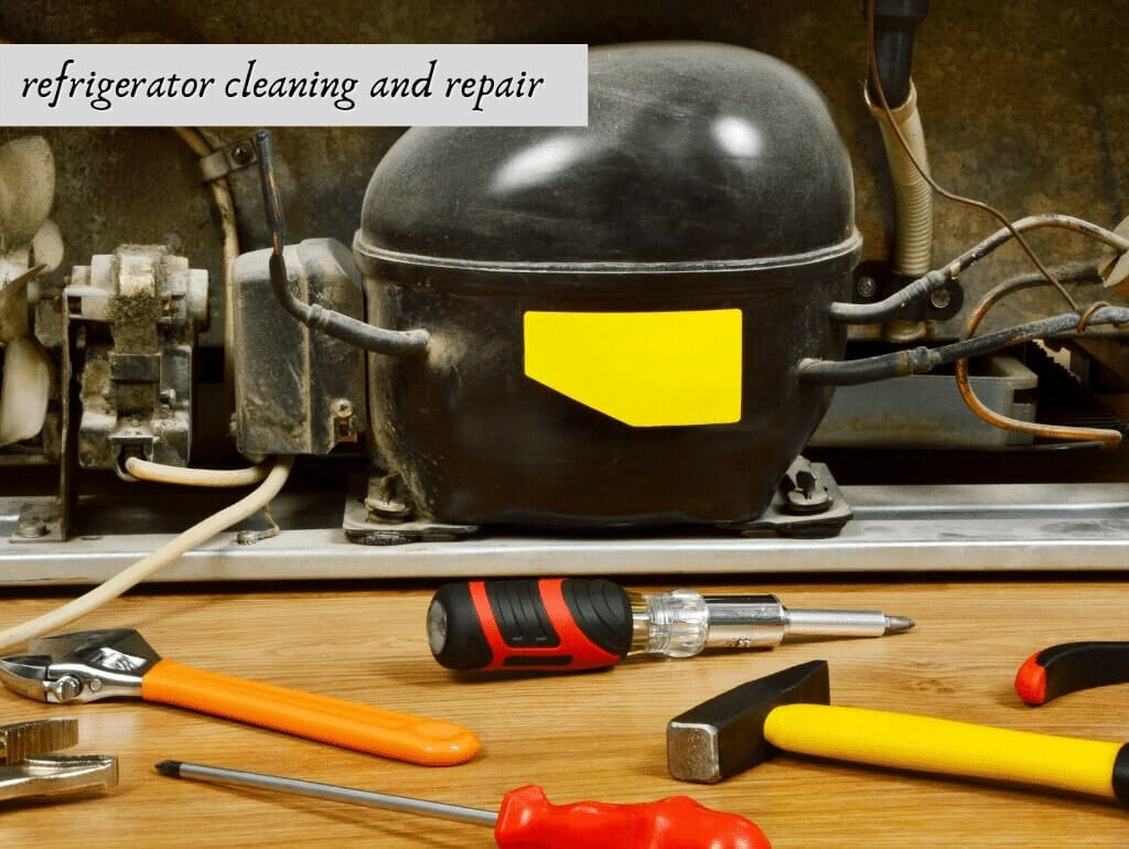 refrigerator cleaning and repair