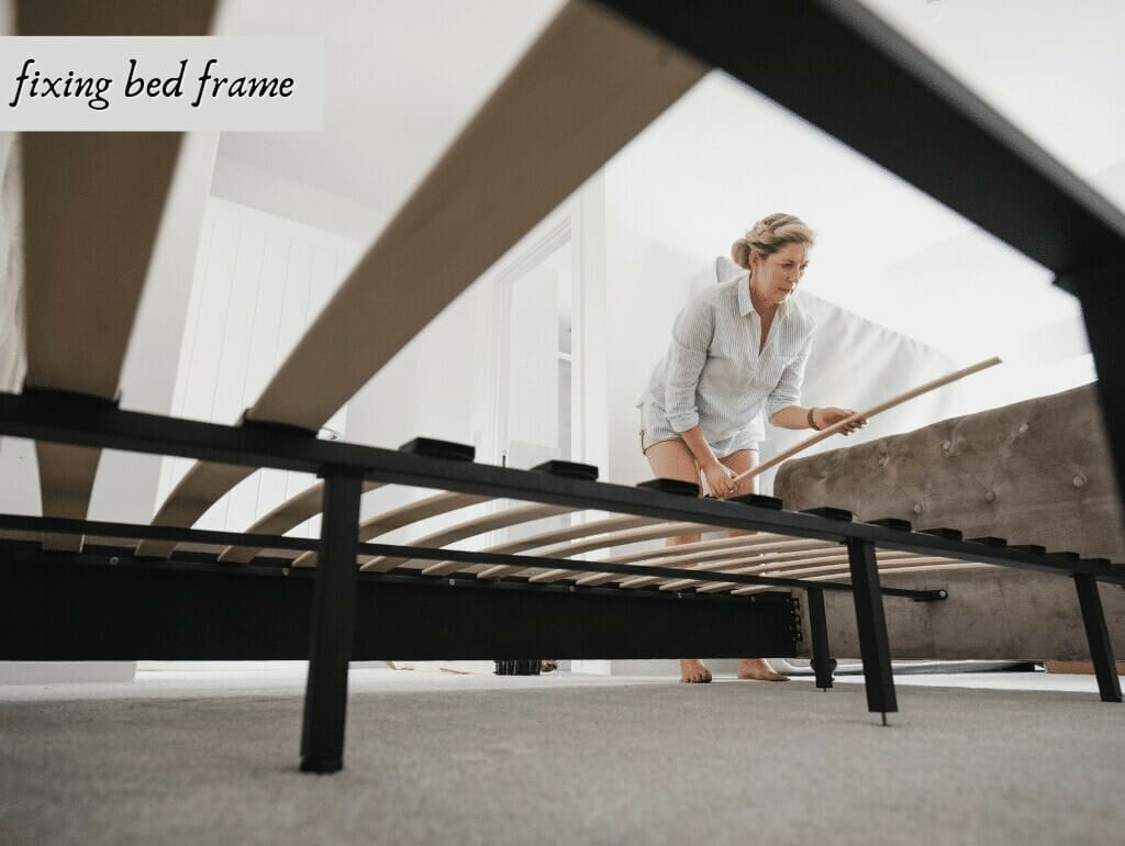 fixing bed frame