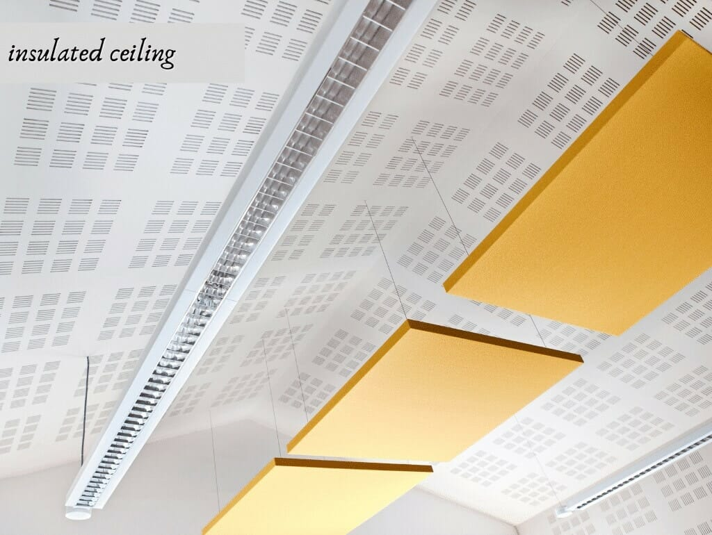 insulated ceiling